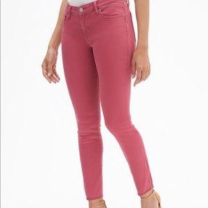 GAP Denim Leggings Stretch Pink Brand New